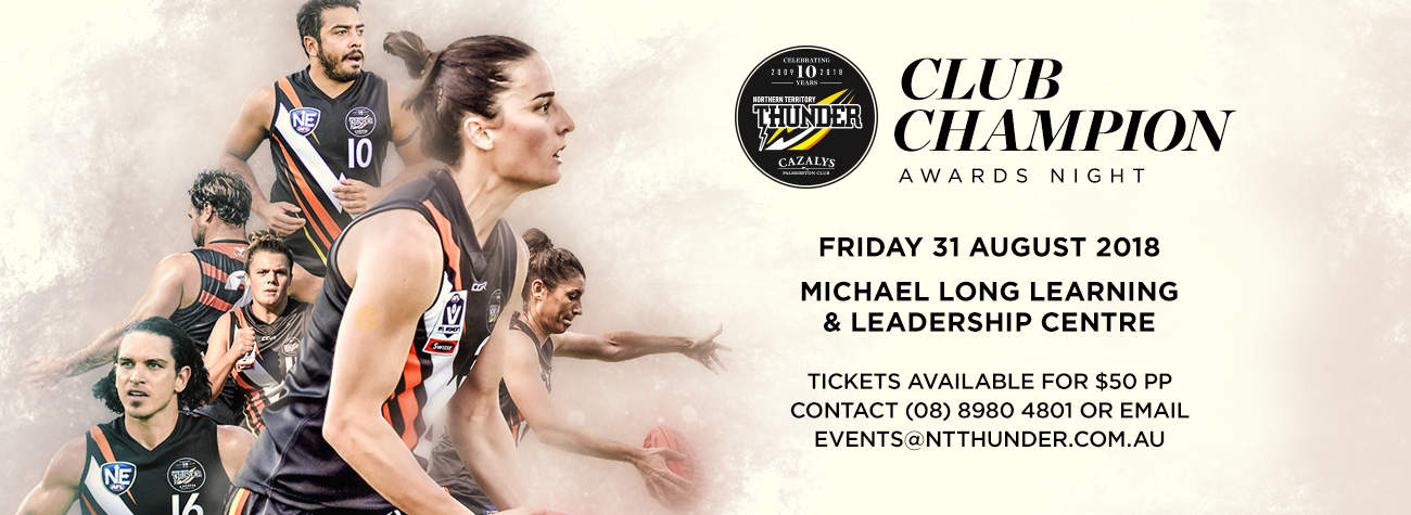 2018 NT Thunder club champs promo slider