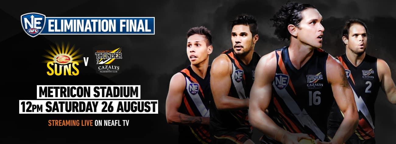 Finals Week 1 vs Gold Coast Suns