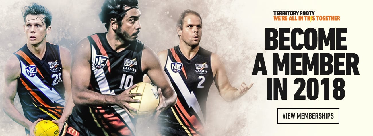 2018 NT Thunder memberships