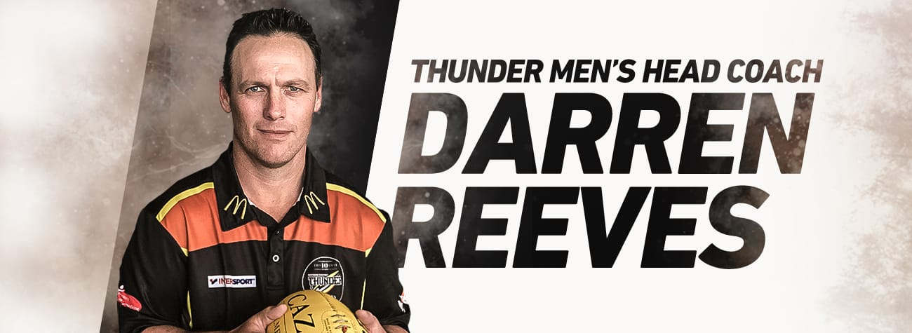 Darren Reeves head coach of NT Thunder