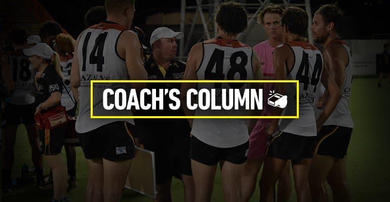 Coach's column Round 3