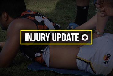 Injury update for Round 5