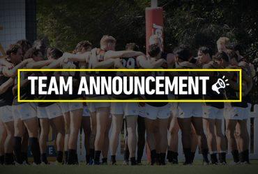 Round 5 team announcement
