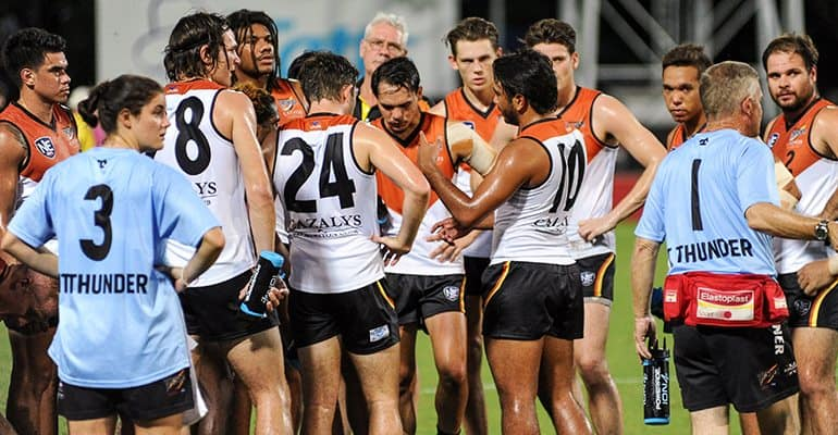 Round 3 is a bye for NT Thunder