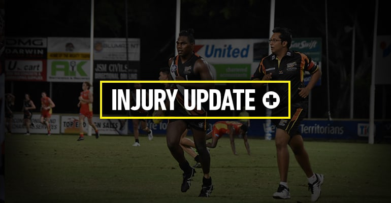 Injury Update Round 8