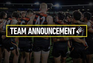 Team Announcement Round 8