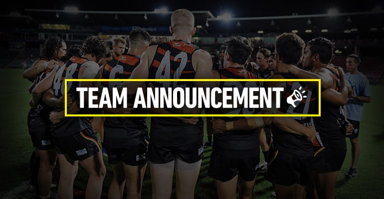Team Announcement Round 8