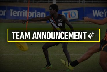 Team Announcement Round 12