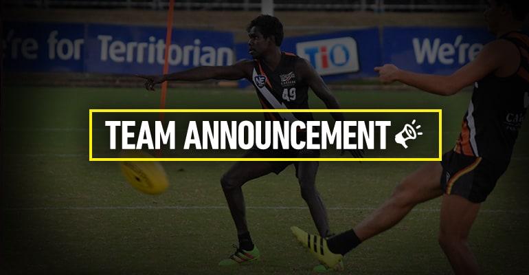 Team Announcement Round 12