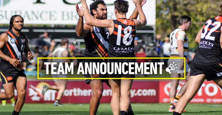 Rd 18 team announcement