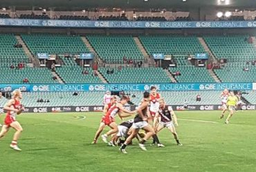 Thunder vs Swans in Round 17