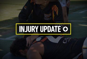 Elimination Final Injury Update