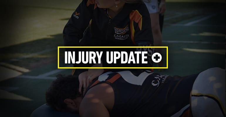 Elimination Final Injury Update