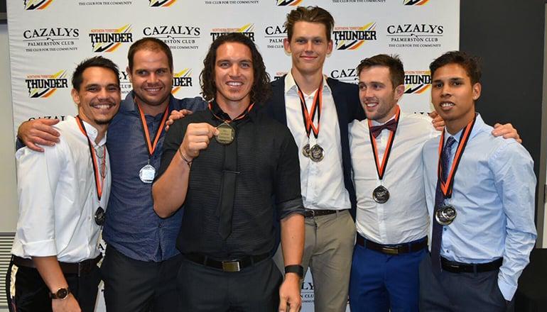 Club Champion 2017 top five places