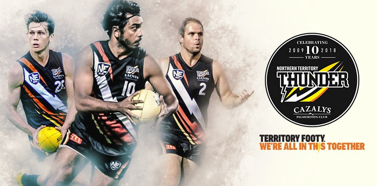 2018 NT Thunder memberships are here