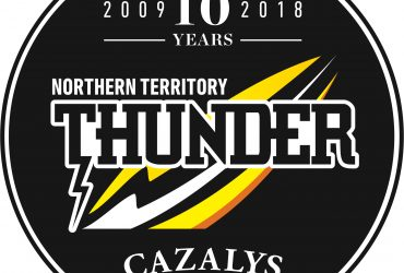 Ten year NT Thunder logo