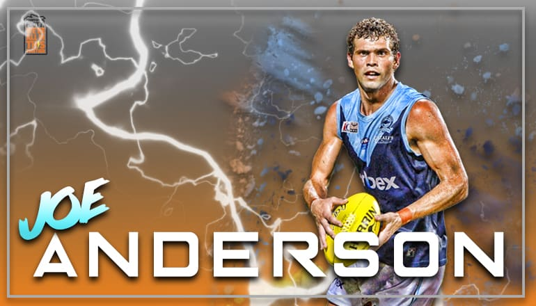 Joe Anderson has signed to play Thunder in 2018