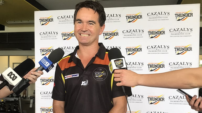 Tim Weatherald is announced as coach