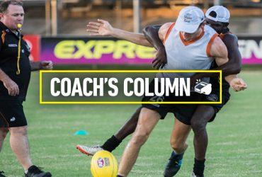 Round 1 2018 Coach's column