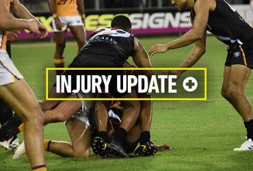 Injury update Round 3