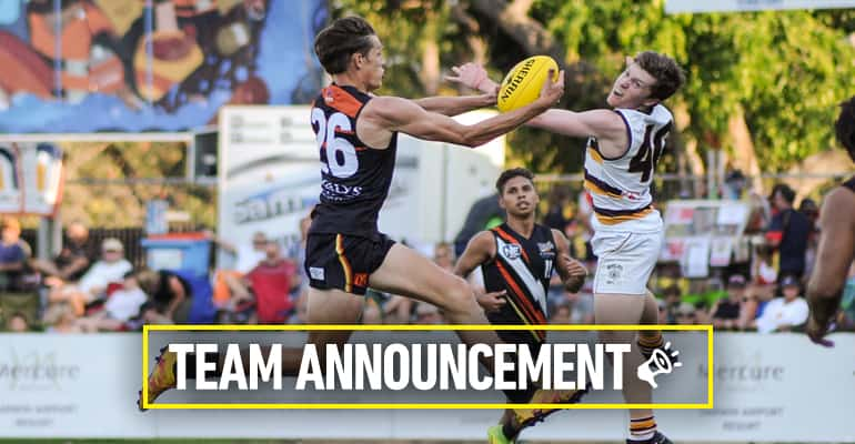 Round 2 team announcement