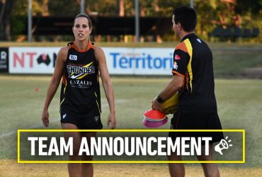 Kylie Duggan is one of five debut players for ThunderW