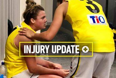 Jordann Hickey Injury update