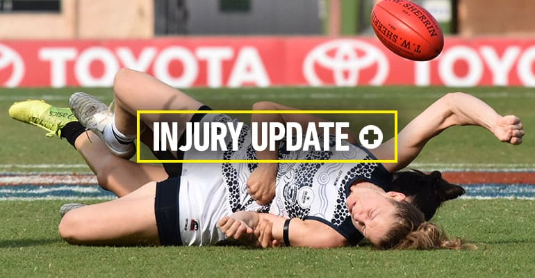 Injury update image