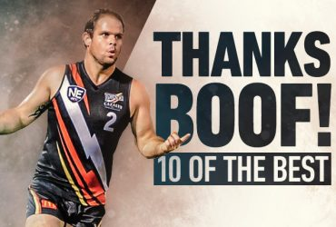 Thanks Boof for 10 of the best