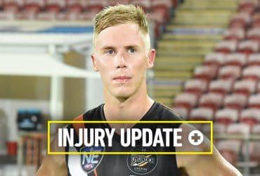 Sam Dyke on the injury radar