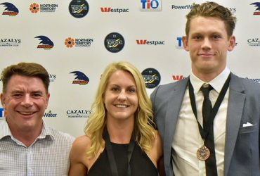 Katie Streader, Sam Smith and Peter Lee