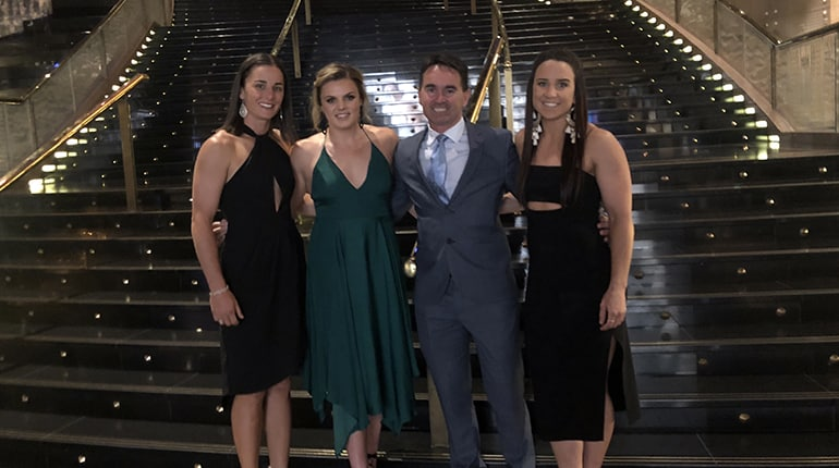 VFL Awards ceremony NT Thunder represent