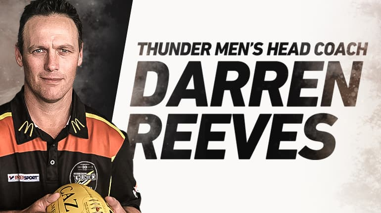 Darren Reeves the new NT Thunder Head Coach
