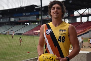 Lachlan Collihole signs for NT Thunder in 2017