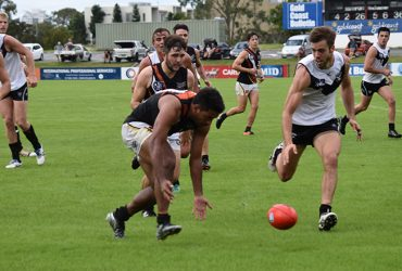 NT Thunder playing Southport in Round 8, 2017