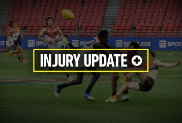 Round 15 injury update cover photo