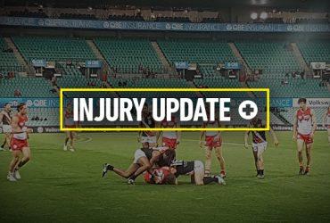 Round 18 injury update