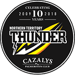 NT Thunder 10 year logo