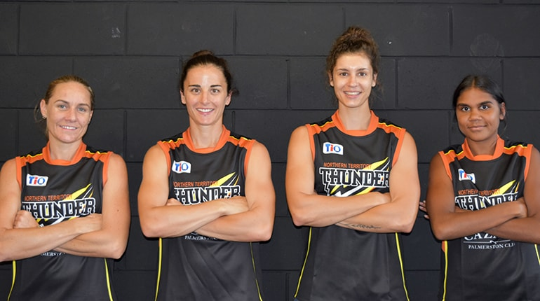 VFL Women's training squad announced » NT Thunder
