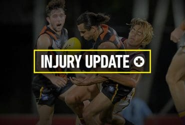 Round 2 Injury Update