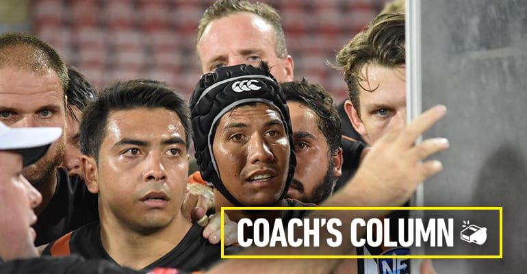 Coach's column Round 8 2018