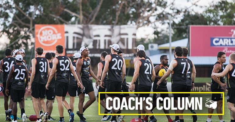Round 11 coach's column