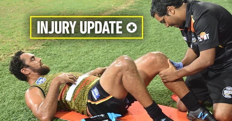 2018 Rd 10 Injury update
