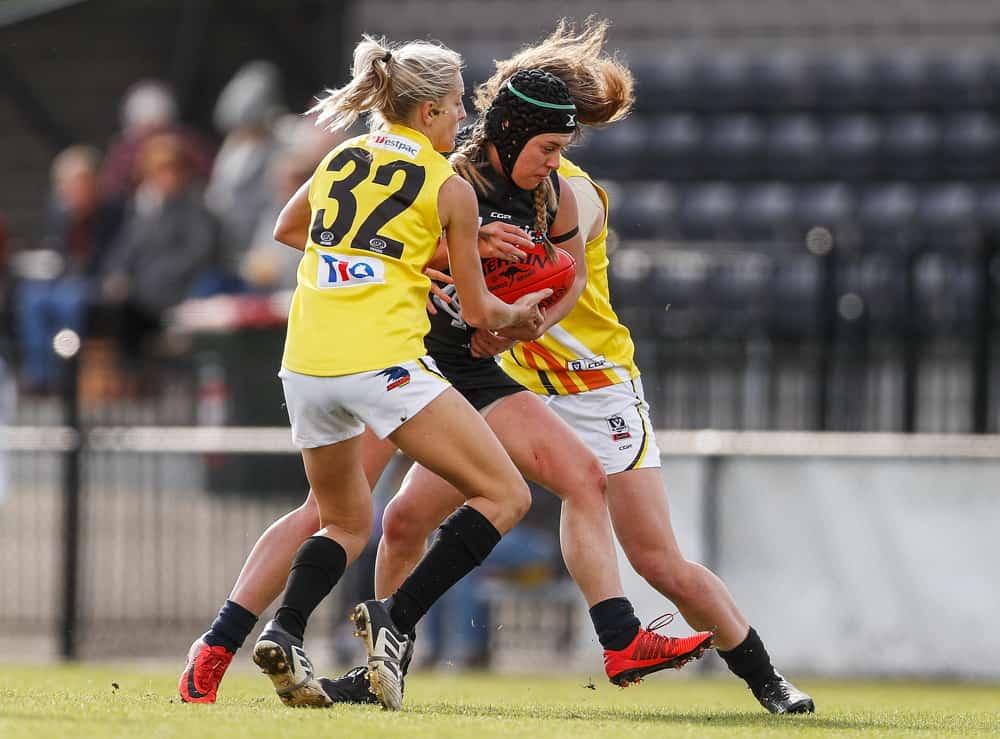 Katie Streader tackles