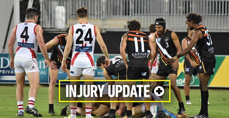 Injury update