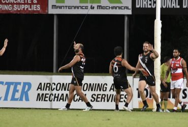 Boof celebrates one of his eight goals