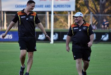 Andrew Hodges to lead NT Thunder