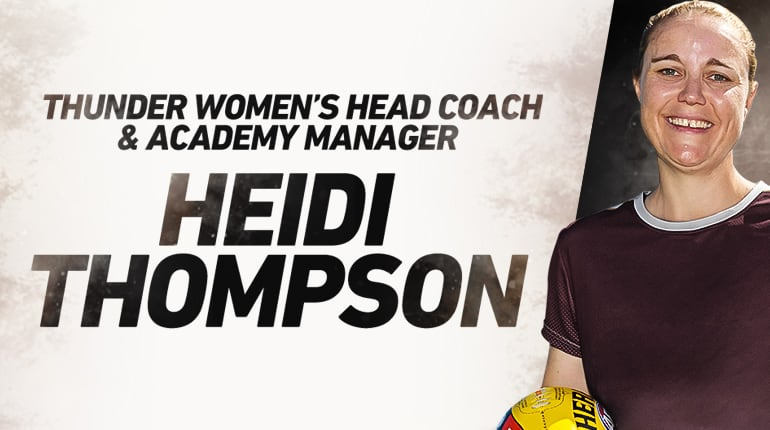 Heidi Thompson comes to NT Thunder