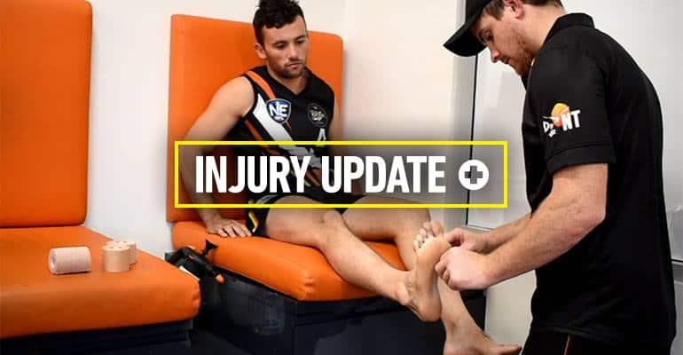 Round 1 NT Thunder injuries