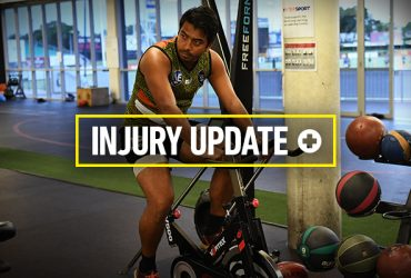 Shannon Rioli is still on the injury list